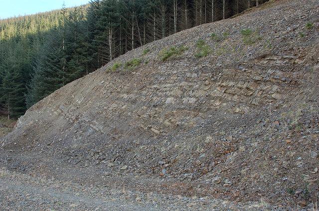 Rock exposure, Cairn Hill