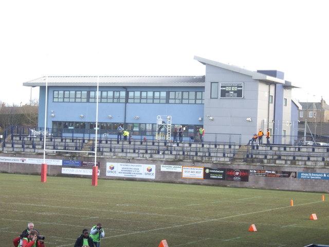 Boroughmuir RFC clubhouse