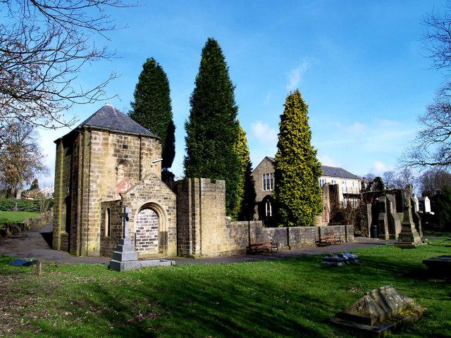 Original site of St Thomas, Barrowford