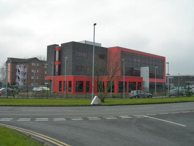 SJ6391 : Business Centre, University of Chester