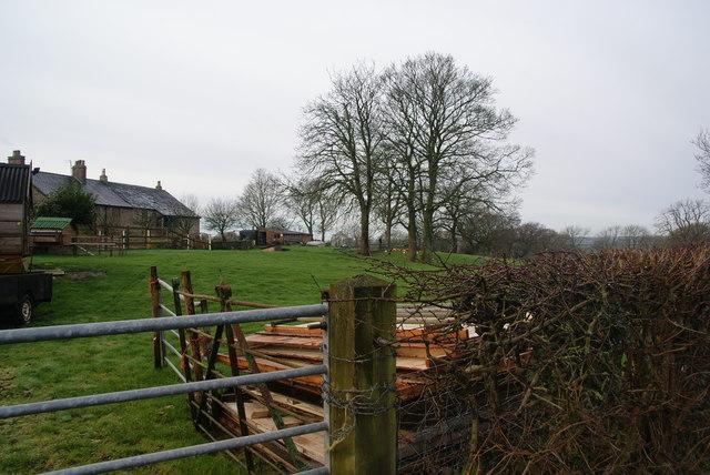 Row of houses near Rigby Fold