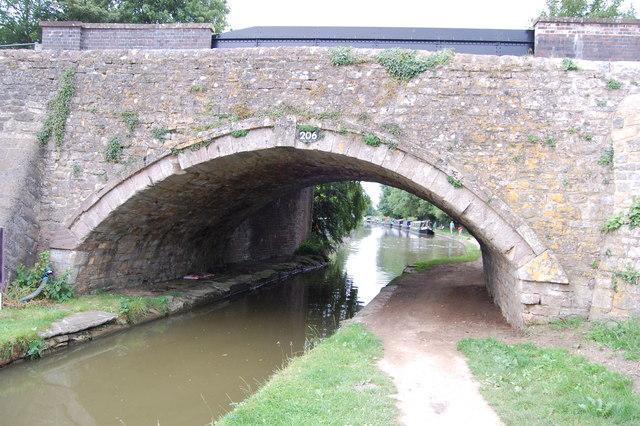 Canal bridge Heyford