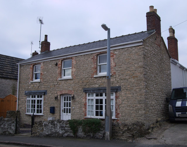 Stone-built house in St. Philip's Road