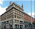 SJ8498 : Smithfield Building, Oldham Street, Manchester by Stephen Richards