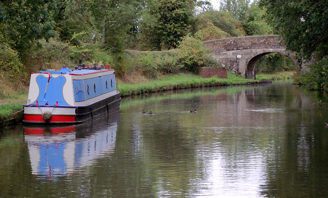 Shropshire Union Canal near Church Eaton, Staffordshire