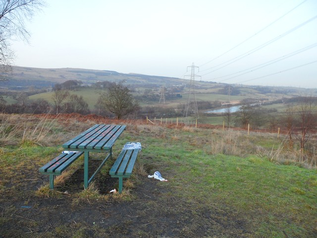 Picnic area on Croy Hill