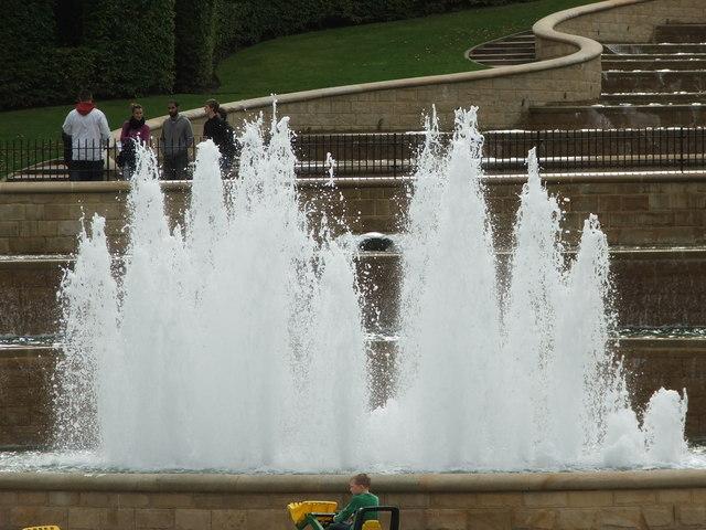Fountain in the Cascade