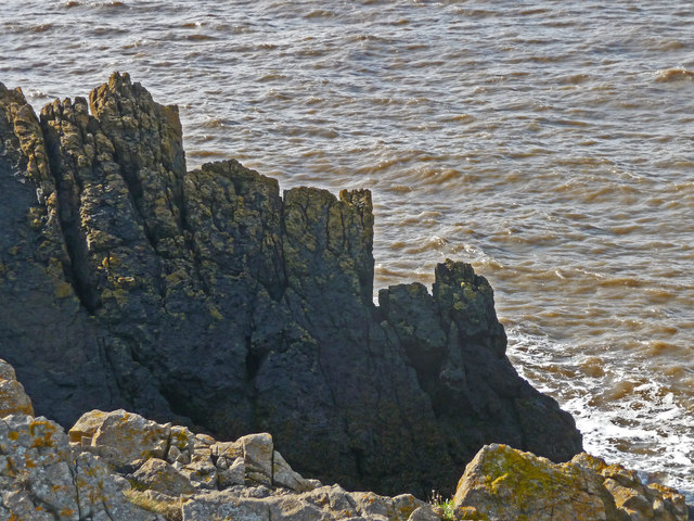 Brean Down - Rocks