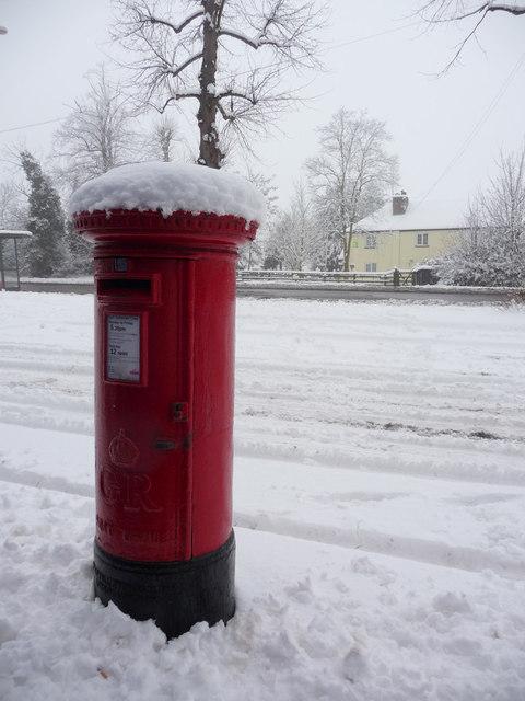 Large George V Pillar Box, Bramley Road, London N14
