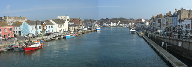 Spring time in Weymouth