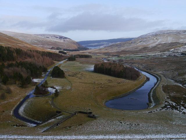 Megget Reservoir Stilling Pool