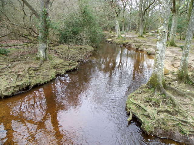 Ober Water near Puttles Bridge