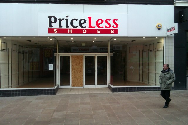 Priceless, Regent Street, Swindon