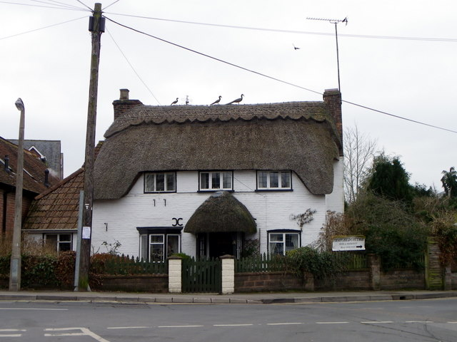 Thatched cottage, Brockenhurst