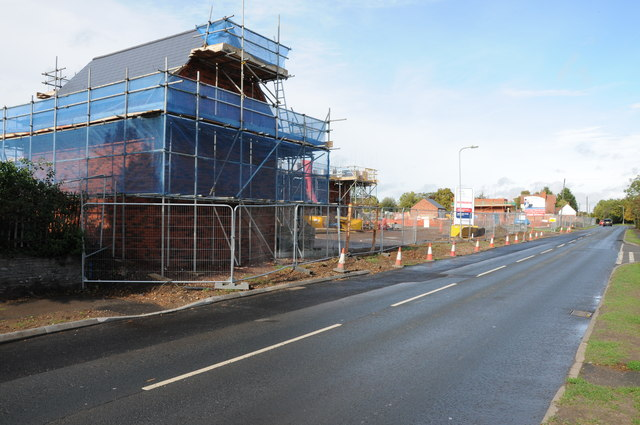 Building development, Pershore