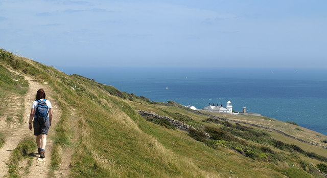 South West Coast Footpath near Durlston, Dorset