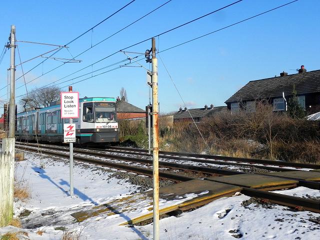 Metrolink Foot Crossing