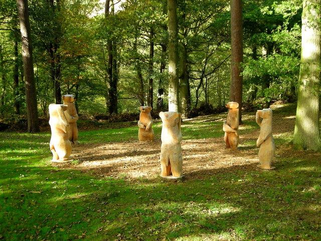 Long Mynd Hotel Sculpture Park