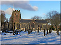 SD7907 : St Mary's Parish Church, Radcliffe by David Dixon