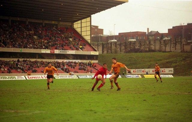 Molineaux Stadium in 1991