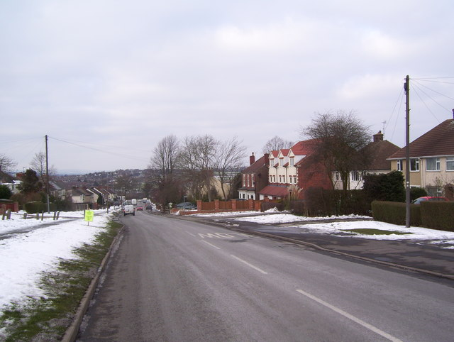 Parkhouse Road at Lower Pilsley