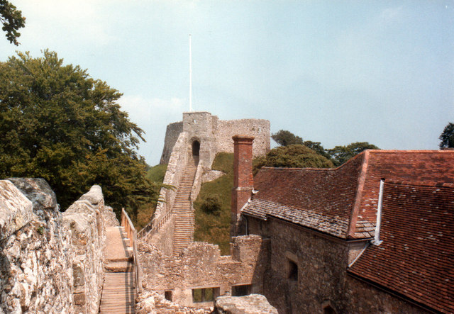 Carisbrooke Castle 1984