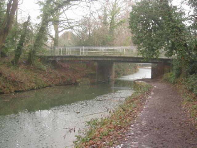 Coxheath Bridge - Basingstoke Canal
