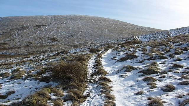 Path on Glentye Hill