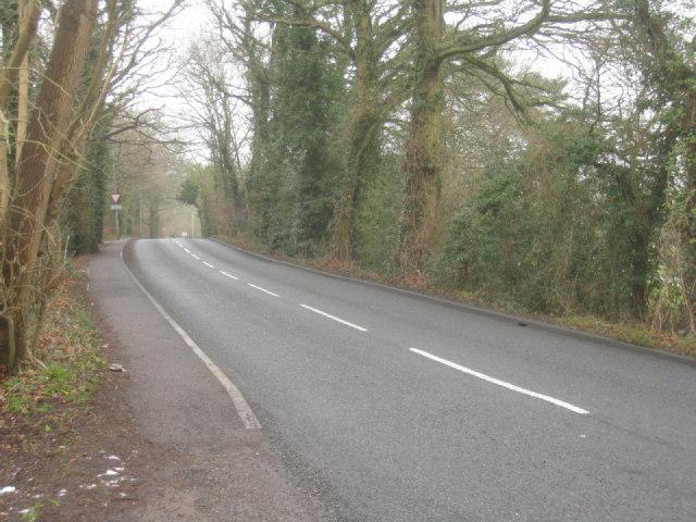 Approaching Crookham village
