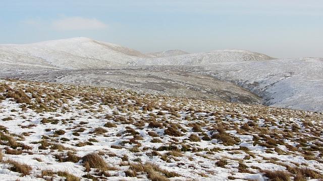 Moorland on Blairdenon Hill
