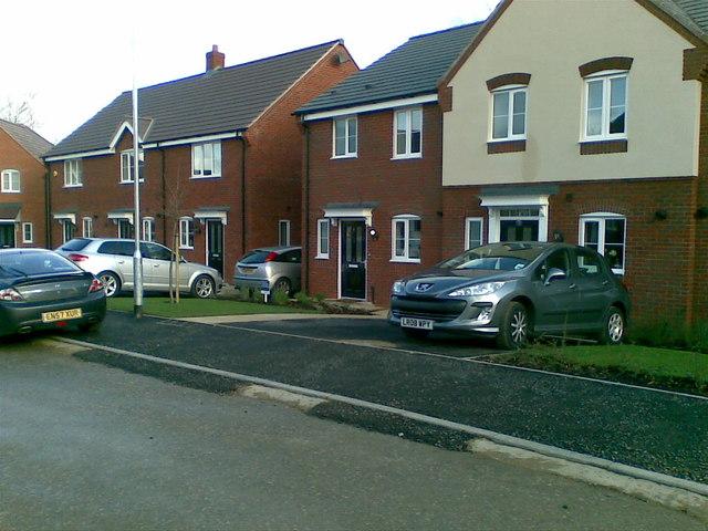 New houses, Nursery Close