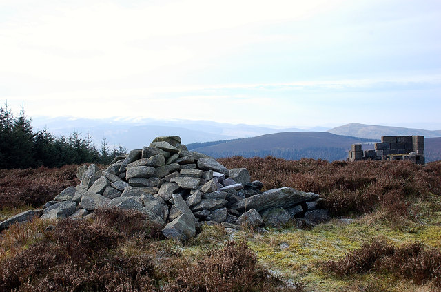 Summit of Cairn Hill