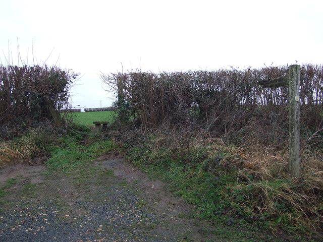 Stile Near Gaunt's House