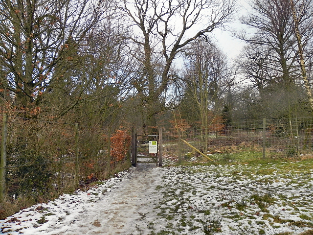 Lyme Park, Entrance to Crow Wood