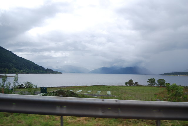 View from the A82 towards Loch Linnhe