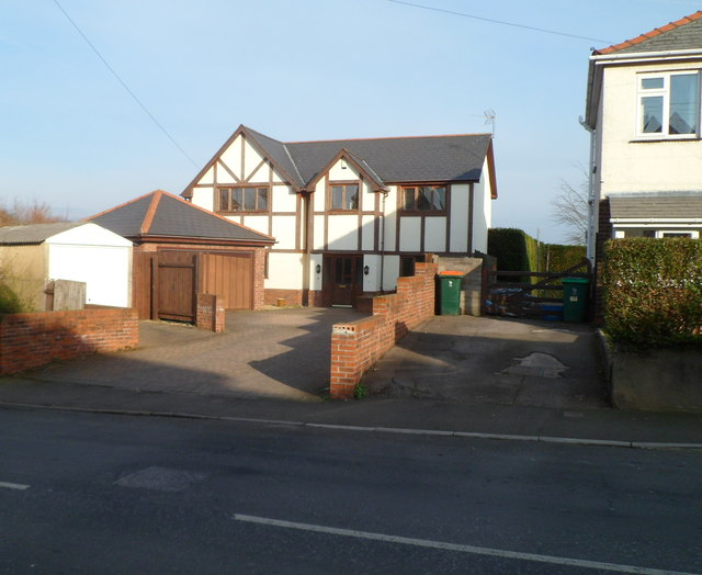 Recently-built house, Pillmawr Road, Malpas, Newport