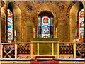 SJ9585 : Altar and Windows, St Thomas's Church by David Dixon