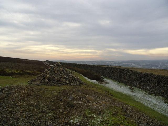Cairn on Marrick Moor