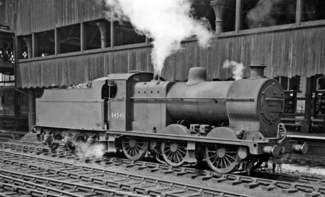 LMS Fowler 4F 0-6-0 at Manchester Victoria