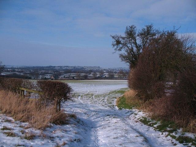 Winter landscape, Upsall
