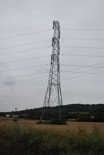 Pylon by Hall Rd