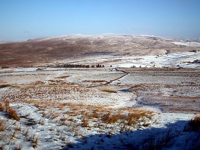 Blea Moor viewed from Fell Close