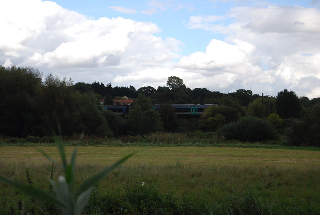Train on the Great Eastern Line
