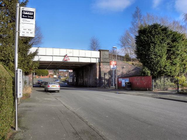 The Bridge at Hag Fold Station