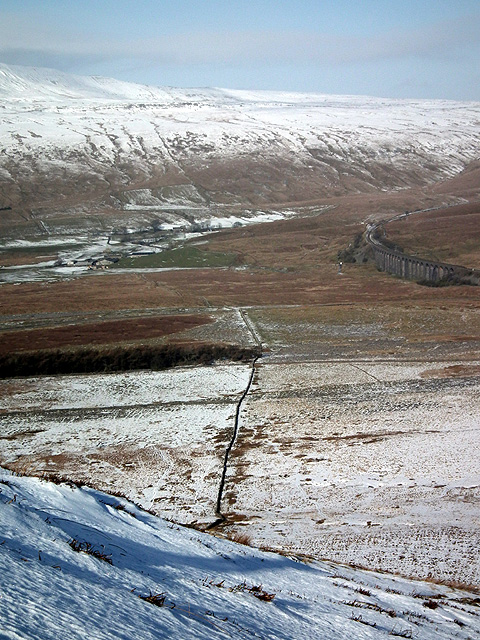 A view from the slopes of Park Fell
