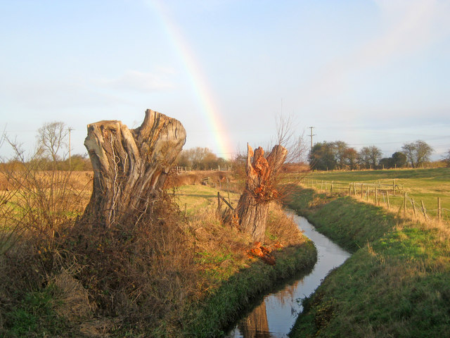 Drainage ditch at Langford