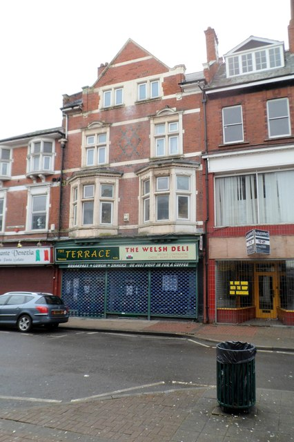 Terrace Cafe and The Welsh Deli, Newport