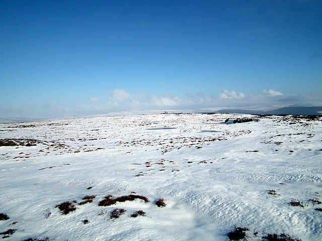 A view towards Park Fell trig