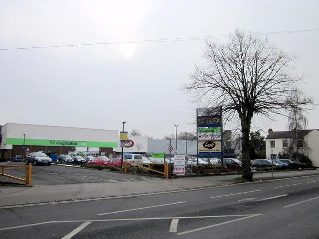 Bromsgrove Retail Park 9.2.12 Prior to redevelopment