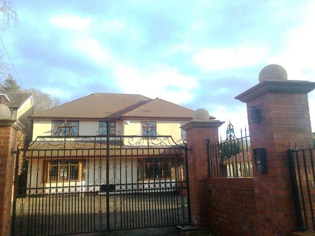 New house, Ebstree Road, Seisdon